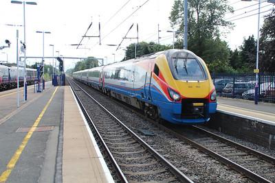 222004 Heads north through Harpenden 20/08/12