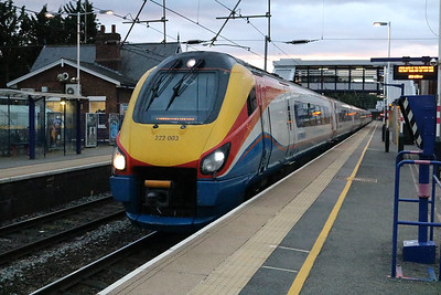 222003 2016/1c75 Sheffield-St.Pancras passes Harpenden   14/08/17