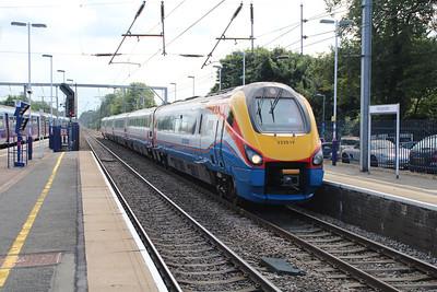 222019 Heads north through Harpenden 20/08/12.