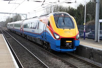 222102 North through Harpenden 08/03/12