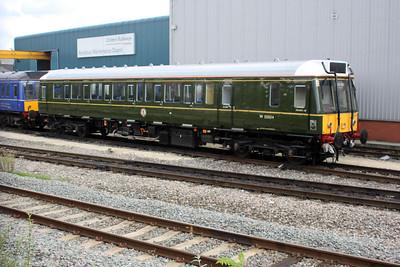 Chiltern Railways Class 121 Bubble Car W55034 at Aylesbury Depot 14/08/11.