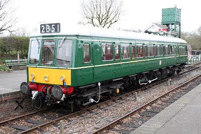 W55033 at The Colne Valley Railway 31/03/12.