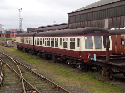 Class 108 DMU 56207_59245 Appleby-Frodingham Railway Pres. Society. 10/11/07.