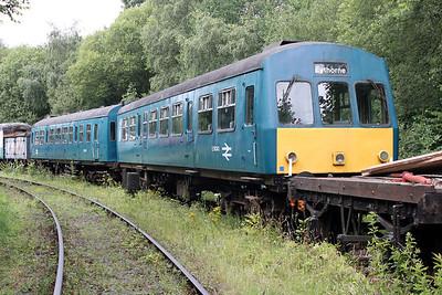 DMU E56343_E50256 at 'East Kent Railway,Shepherdswell' 24/07/11.