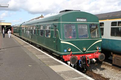 UID DMU at 'The Mid Norfolk Railway'. 17/09/11