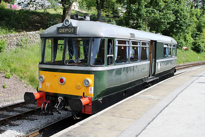 M79964 at Oxenhope Station on the KWR 20/06/12.
