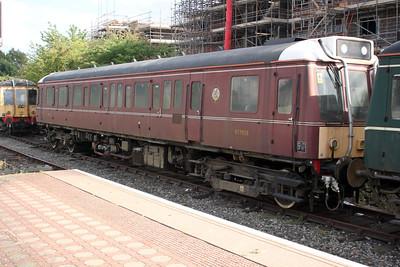 Chiltern Railways Sandite DMU 977858 at Aylesbury Station Sidings 14/08/11.