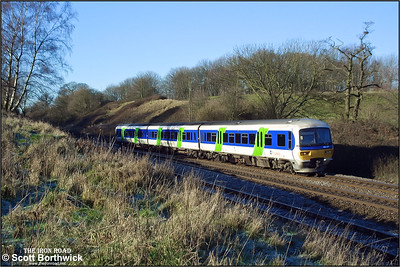 166217 decends Hatton bank on 31/12/2001.