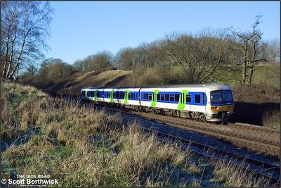 166217 decends Hatton bank on 31/12/2001.