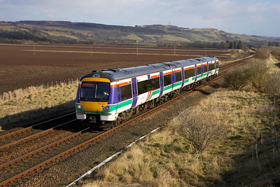 170431 passes Forteviot on 04/03/2005 whilst forming 1T14 0908 Dyce-Glasgow Queen Street.