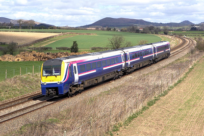 175101 forms 1V80 1056 Manchester Oxford Road-Carmarthen at Wistanstow on 14/04/2006.