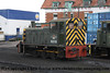 Class 03 Diesel Shunter number D2133 at Minehead.<br /> 17th June 2012