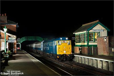 31438 arrives at North Weald on 25/01/2014.