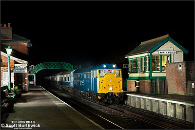 31438 arrives at North Weald on 25/01/2014.