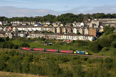 Where else but the Welsh Valley's. 37425 departs from Gilfach Fargoed on 17/09/2005 with 2R10 0859 Cardiff Central-Rhymney.