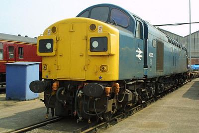 40135 is pictured at Crewe Works on 31/05/2003 during the 'Return of the Legends' Open Weekend.
