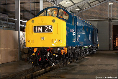 40145 at rest at Barrow Hill on 23/02/2006.