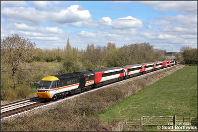 43102/43274 approach Syston East Jnct whilst working 5M17 1020 WSX London St Pancras International-London St Pancras International via Leicester driver route refresher on 15/04/2021.