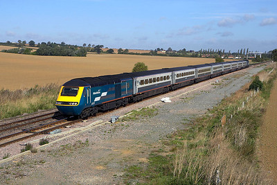 43073/43072 form 1C17 0726 Leeds-London St Pancras passing Harrowden Jnct, Wellingborough on 19/09/2006.