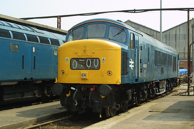 46035 is pictured at Crewe Works on 31/05/2003 during the 'Return of the Legends' Open Weekend.