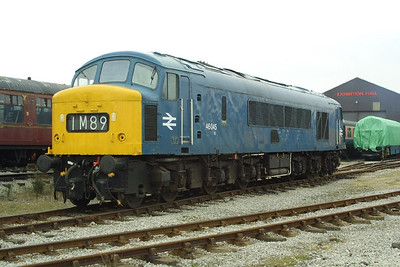 46045 is stabled on Swanwick Jnct TMD at 1222 on Saturday 5th April 2003.