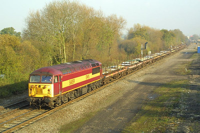 56059 passes Stenson Jnct on 19/11/2001 with 6M47 0911 Aldwarke-Wolverhampton.