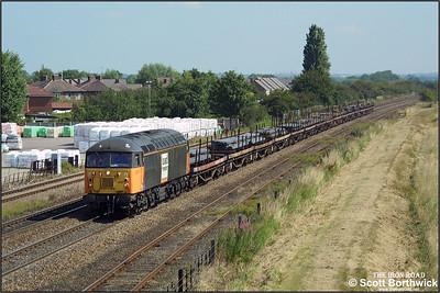 56100 passes Wetmore Farm, Burton upon Trent.
