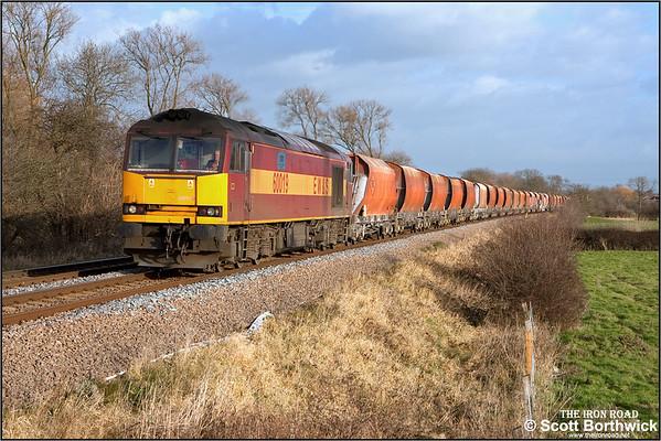Class 60: English Welsh & Scottish Railways (EWS)