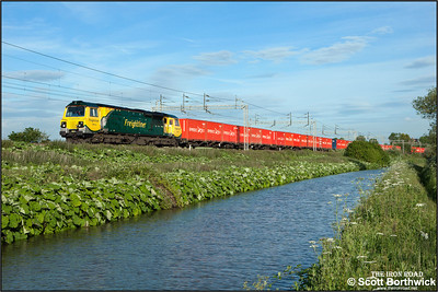 70016 passes Ansty whilst working 4M56 1257 London Gateway-Crewe Basford Hall SSN on 18/06/2015.