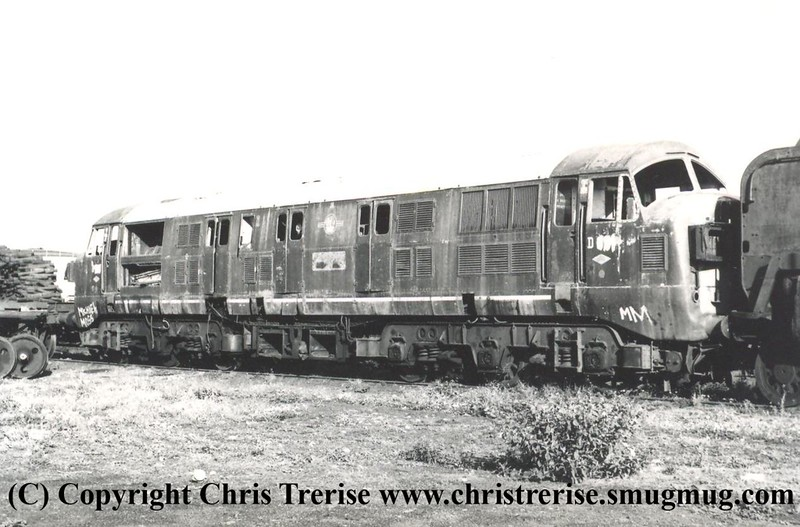 Unidentified Class 41 D6xx Diesel Hydraulic locomotive at unknown location on unknown date.<br /> Copyright Frank Spence.