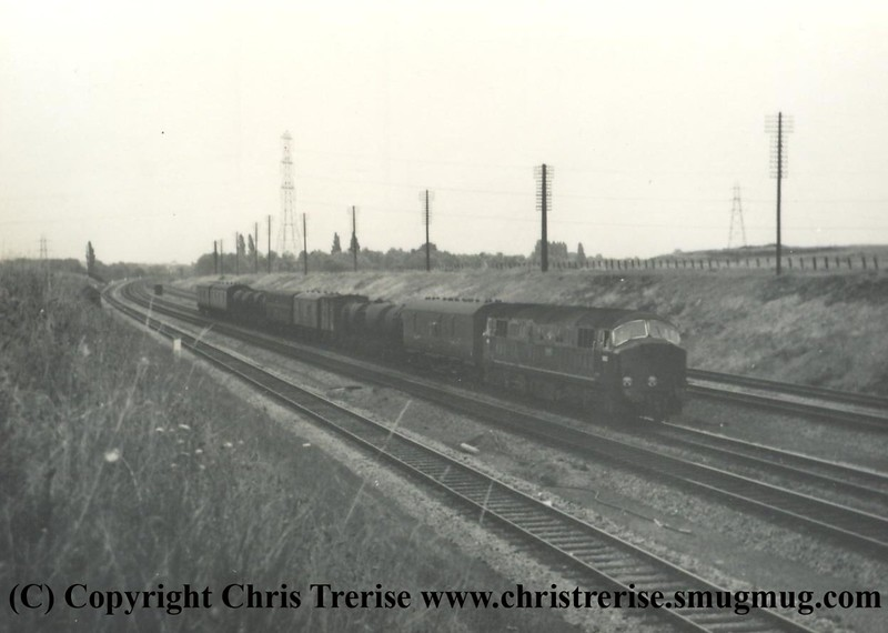 Unidentified Class 41 D6xx Diesel Hydraulic locomotive at an unidentified location!<br /> Copyright Frank Spence