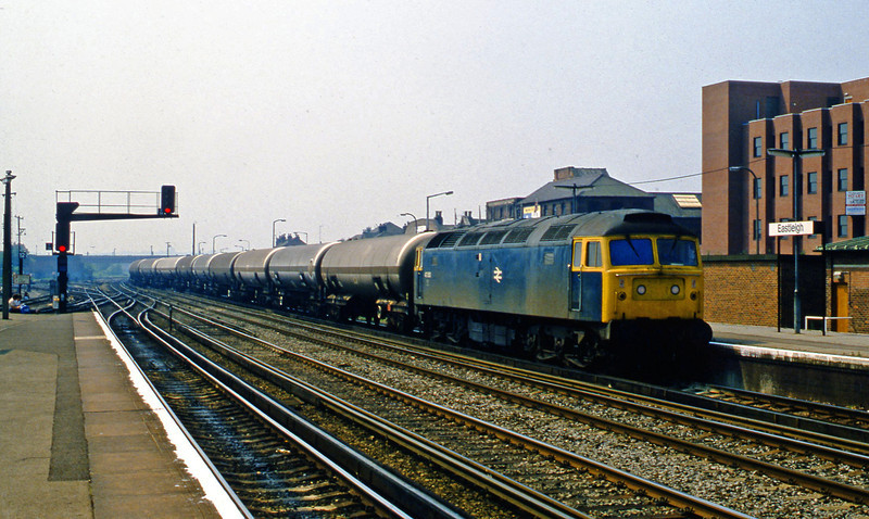 47350, up tanks, Eastleigh, 1-6-82.