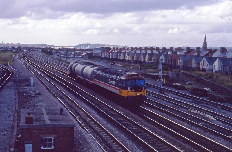 47487, up tanks, Cardiff Canton, 22-9-87.
