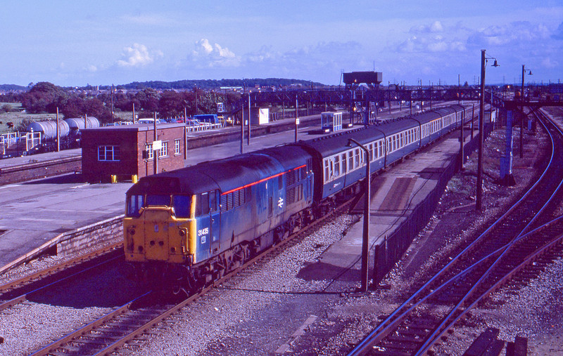 31435, Bristole Temple Meads-Cardiff Central,<br />  Severn Tunnel Junction, 22-9-87.