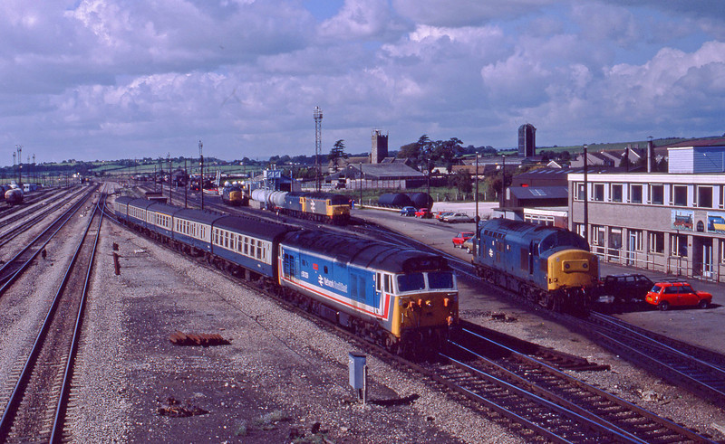 50029, Cardiff Central-Bristol Temple Meads, Severn Tunnel Junction, 22-9-87.