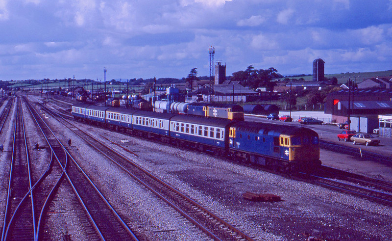33002, Cardiff Central-Bristol Temple Meads, Severn Tunnel Junction, 22-9-87.