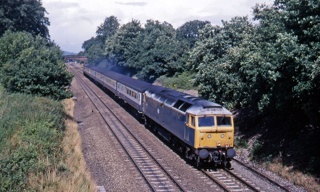 47478, down ecs, Willand, near Tiverton, 26-7-88.