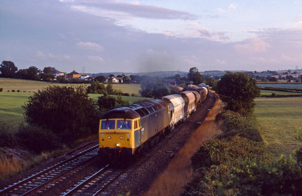47309, up Speedlink, Willand, near Tiverton, 15-8-89.