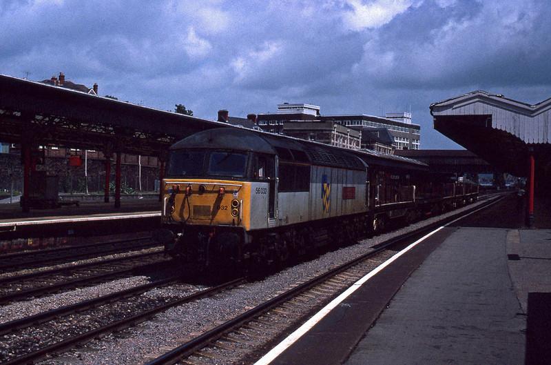 56032, down steel, Newport, 9-7-91.