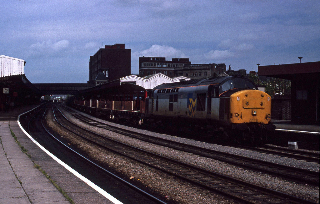 37886, down steel, Newport, 9-7-91.