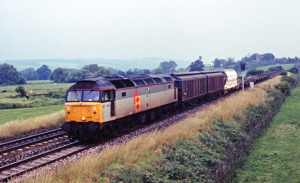 47256, last up Speedlink, Rewe, near Exeter, 5-7-91.