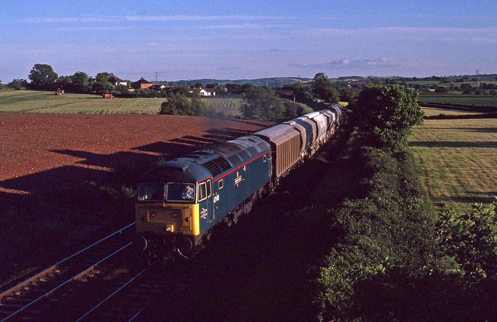47145, up Speedlink, Willand, near Tiverton, 3-6-91.