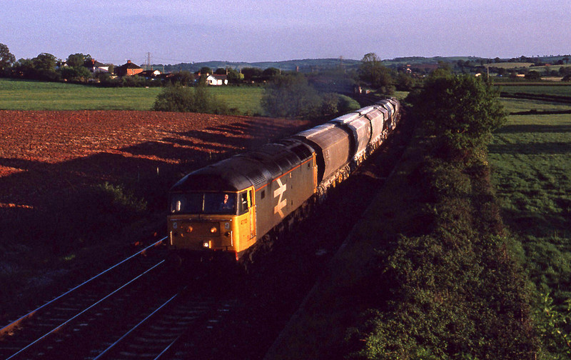 47112, up Speedlink, Willand, near Tiverton, 22-5-91.