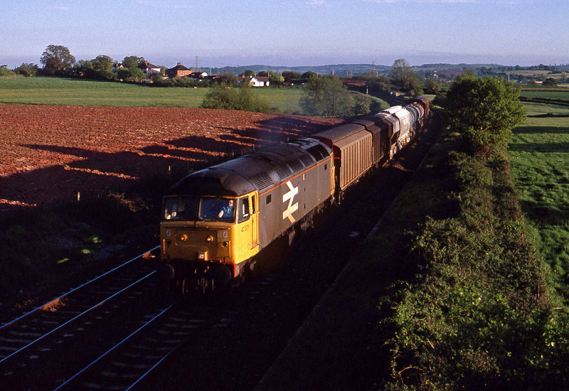 47377, up Speedlink, Willand, near Tiverton, 21-5-91.