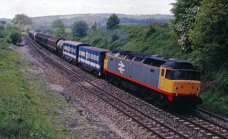 47345, up Speedlink, Whiteball, 21-5-91.
