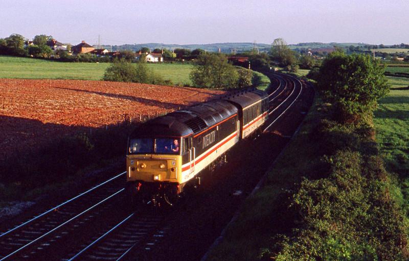 47814, up van, Willand, near Tiverton, 21-5-91.