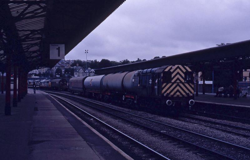 08579, up trip, Newport, 15-7-92.