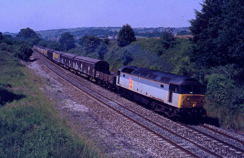 47150, Exeter Riverside-Cardiff Tidal Speedlink, Whiteball, 15-6-92.