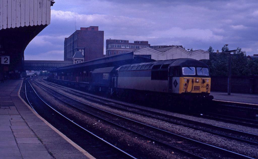 56003, down freight, Newport, 16-6-92.
