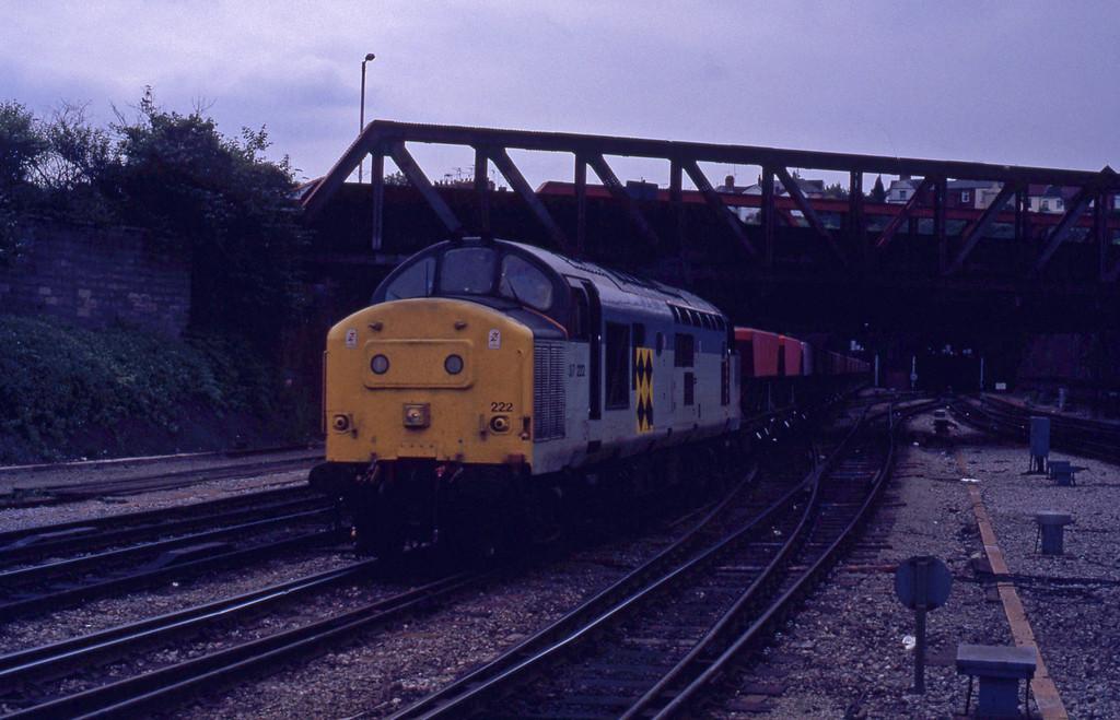 37222, up coal, Newport, 16-6-92.